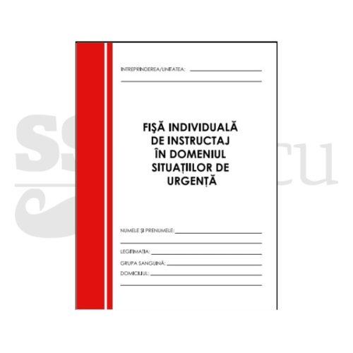 Fisa de instructaj SU-PSI - Forma A5