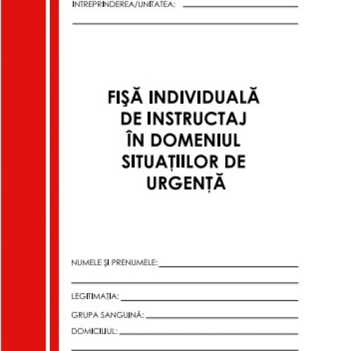 fise de instructaj PSI