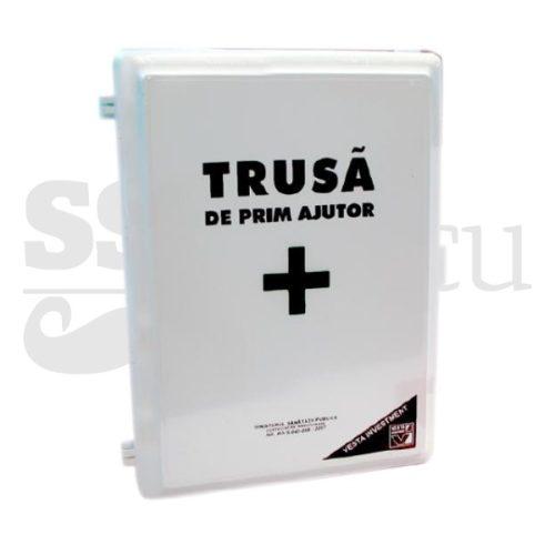 Trusa sanitara de prim ajutor fixa (Complet Echipata)