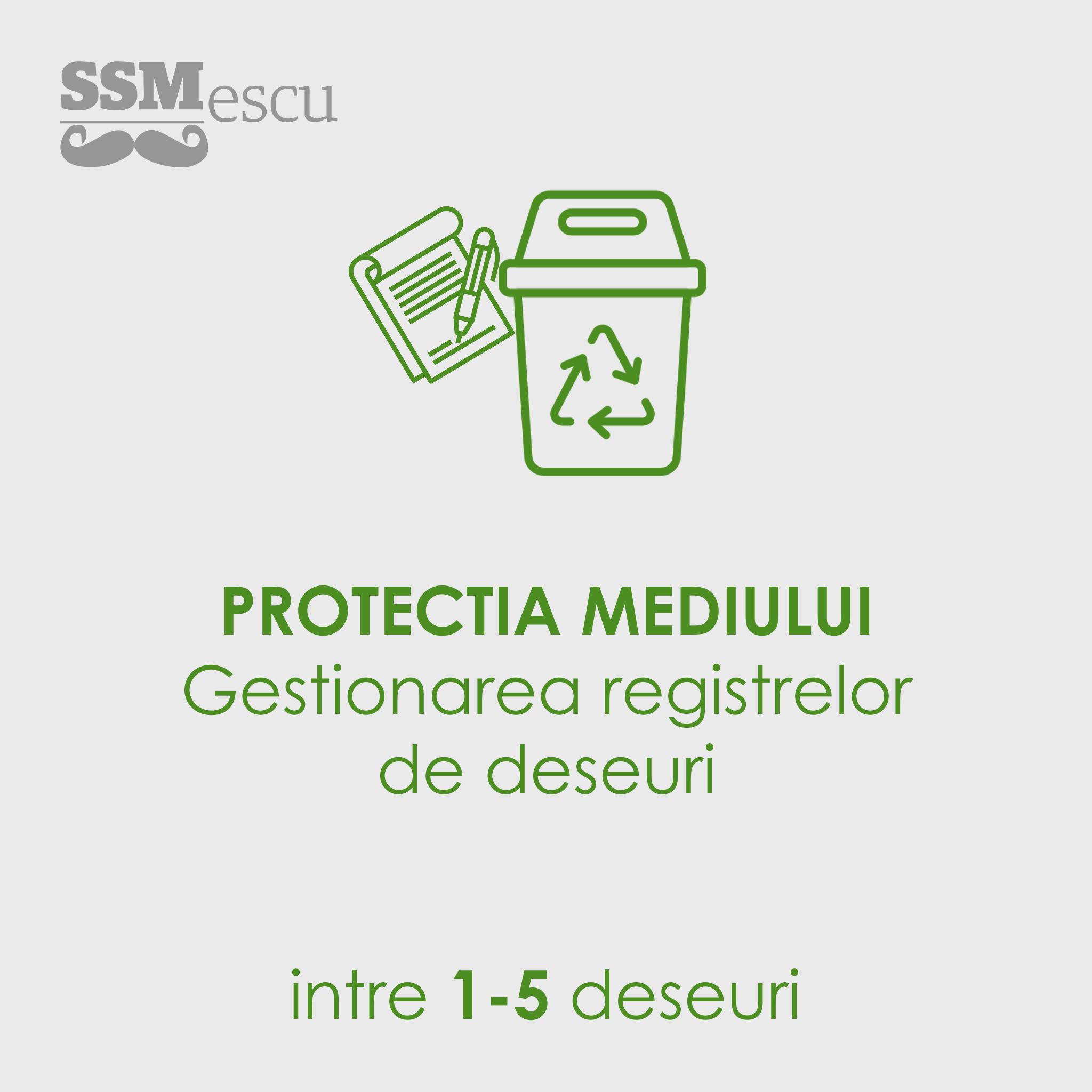 Protectia mediului gestionare deseuri 1-5