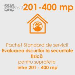 Analiza de risc la securitate fizica pentru suprafete intre 201 - 400 mp