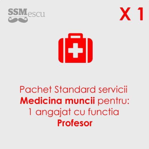Medicina muncii pentru 1 angajat cu functia Profesor
