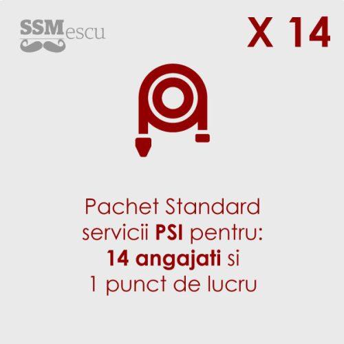 PSI pentru 14 angajati si 1 punct de lucru