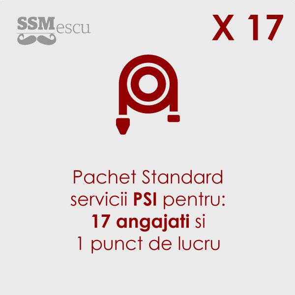 PSI pentru 17 angajati si 1 punct de lucru