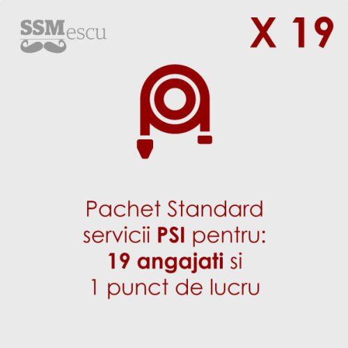 PSI pentru 19 angajati si 1 punct de lucru