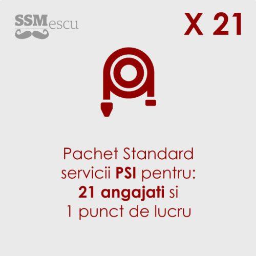 PSI pentru 21 angajati si 1 punct de lucru