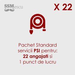 PSI pentru 22 angajati si 1 punct de lucru