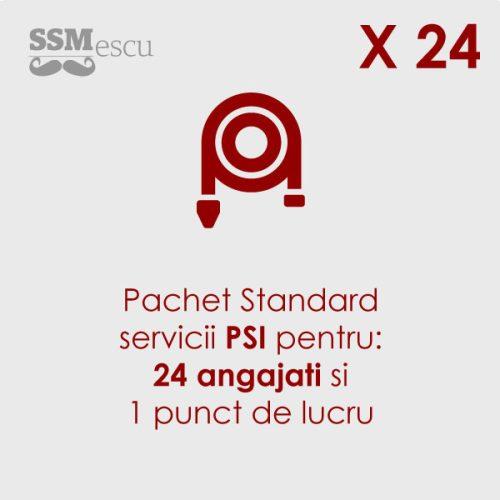 PSI pentru 24 angajati si 1 punct de lucru