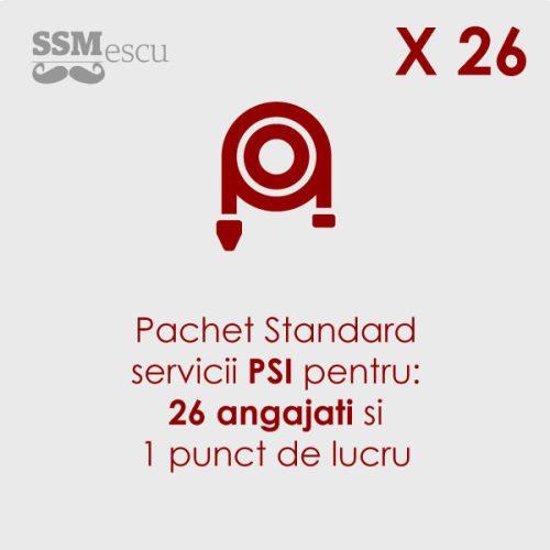 PSI pentru 26 angajati si 1 punct de lucru