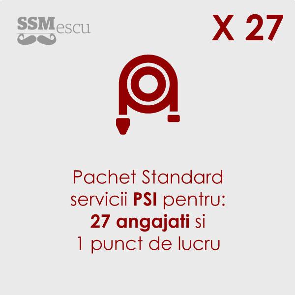 PSI pentru 27 angajati si 1 punct de lucru
