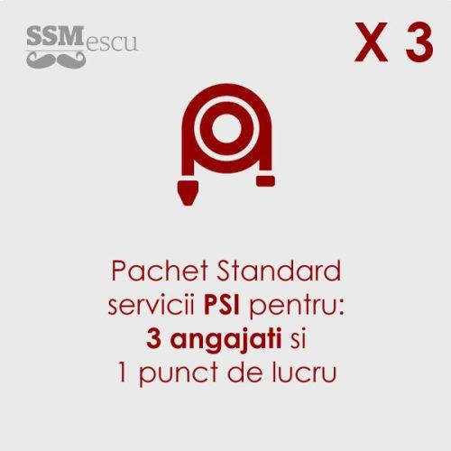 PSI pentru 3 angajati si 1 punct de lucru