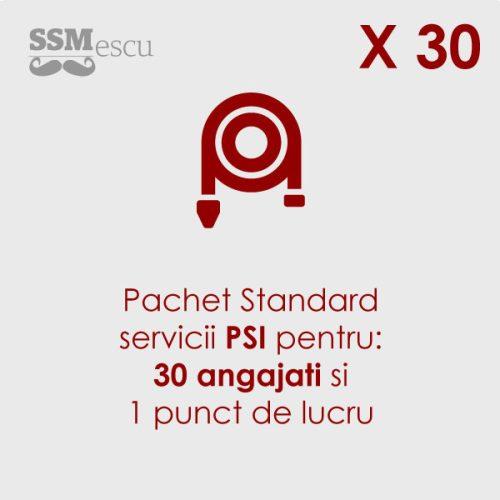 PSI pentru 30 angajati si 1 punct de lucru