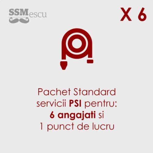 PSI pentru 6 angajati si 1 punct de lucru