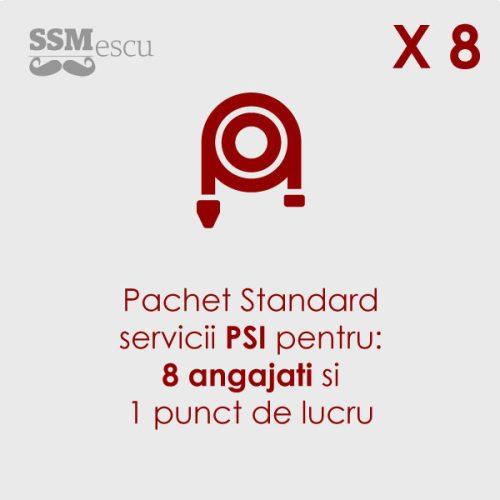 PSI pentru 8 angajati si 1 punct de lucru