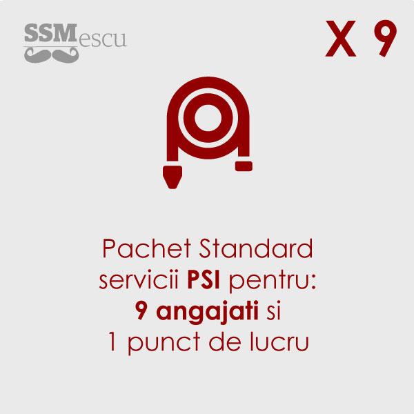 PSI pentru 9 angajati si 1 punct de lucru