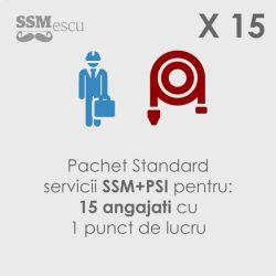 SSM si PSI pentru 15 angajati