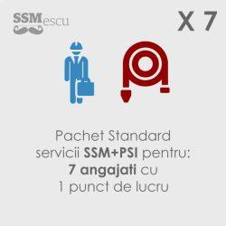 SSM si PSI pentru 7 angajati si 1 punct de lucru