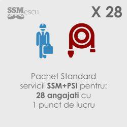 SSM si PSI pentru 28 angajati si 1 punct de lucru