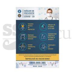 Masuri de preventie si informare privind virusul COVID-19