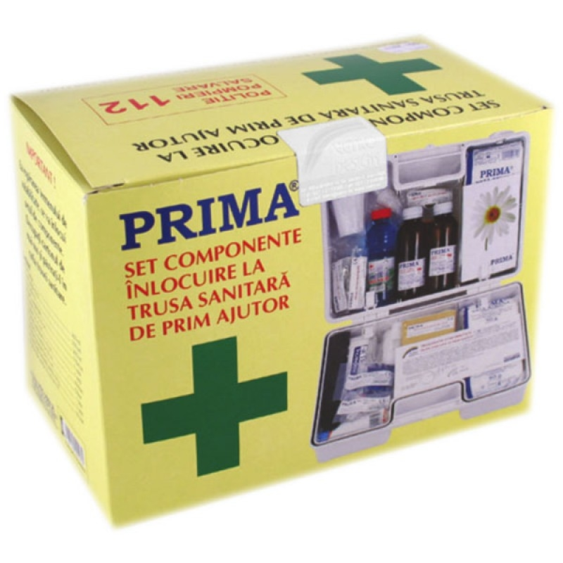 kit inlocuire TRUSA SANITARA PRIM AJUTOR FIXA