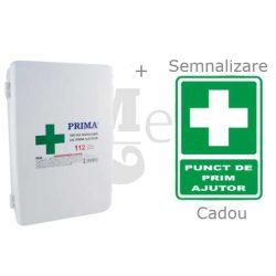 Trusa Sanitara de Prim Ajutor Fixa Complet Echipata PRIMA