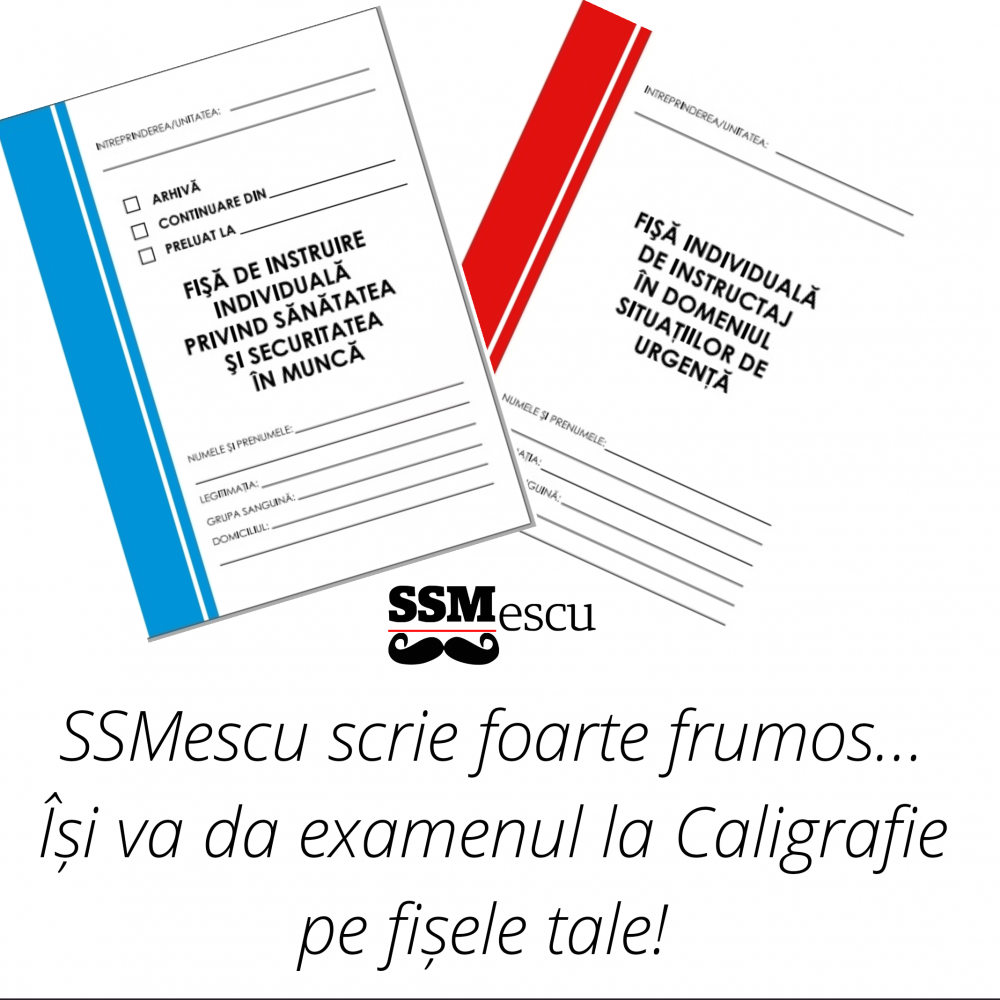 fise instructaj SSM si PSI