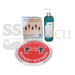 pachet dezinfectant autocolant