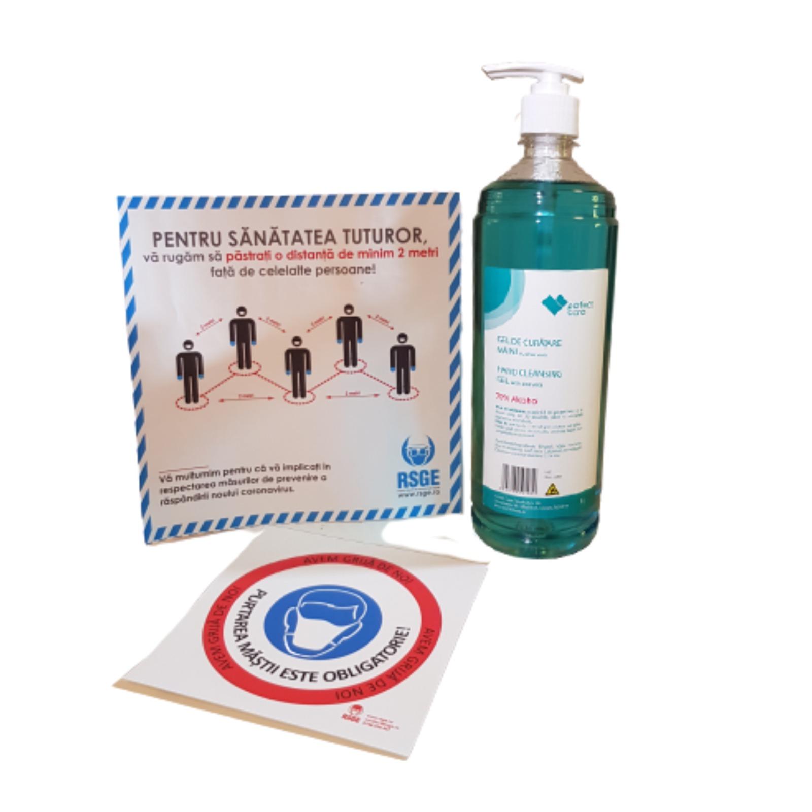 pachet dezinfectant 1l
