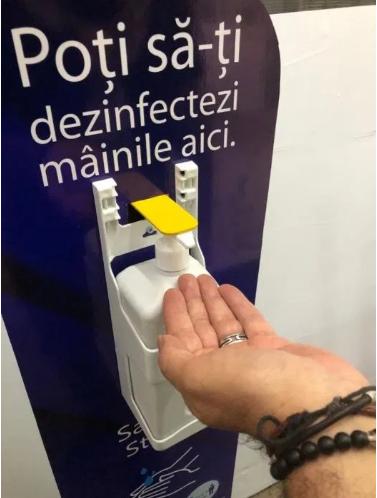 Statie Igienizare / Dispenser Dezinfectant