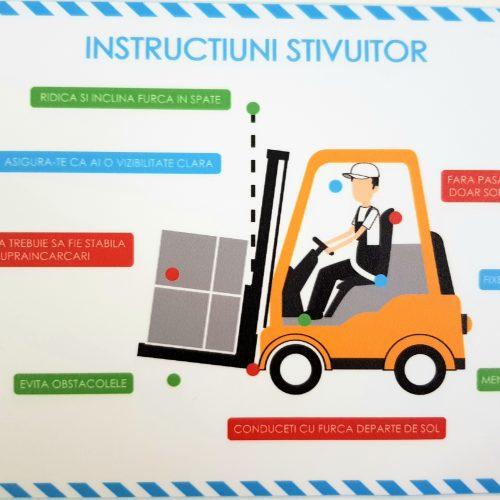 Semnalizare SSM Instructiuni stivuitor