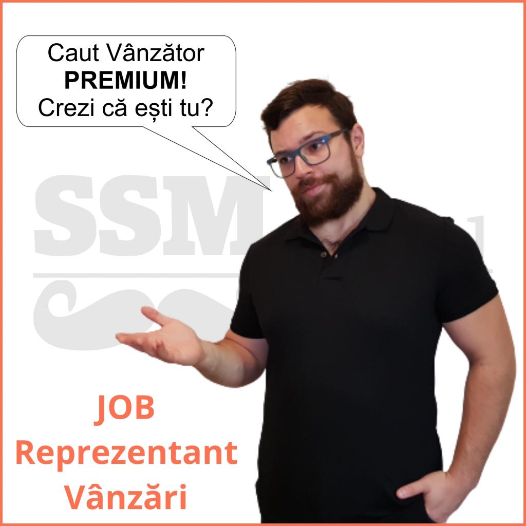 Job Reprezentant vanzari