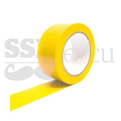 Banda adeziva pentru marcare - 5cm x 25m - galben