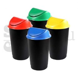 Set cosuri de gunoi cu capac FLIP