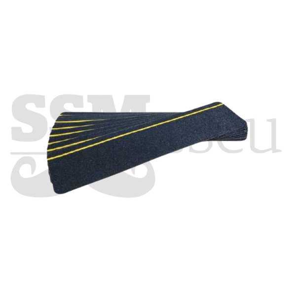 Folie neagra antialunecare pentru trepte (interior) - 15cm x 60cm