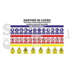 indicator Santier in lucru