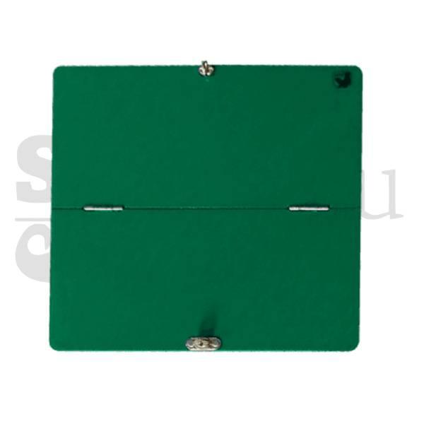 Placa transport pliabila panificatie(culoare verde), 300*300mm
